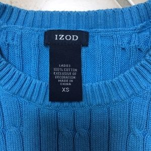 Izod Sweaters - Cable knit crew Sweater XS